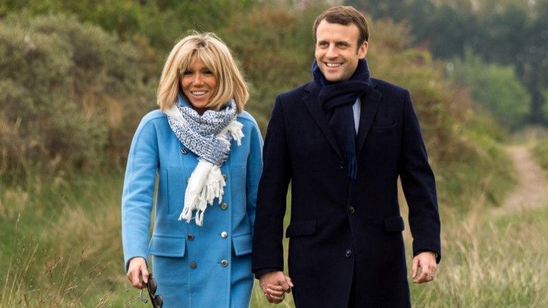 Presidendivalimiste suursoosik Macron abiellus oma õpetajaga