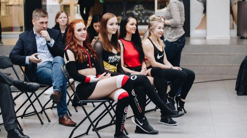 ÕHTULEHE VIDEO   Mitte ainult korvpallurid! Poolfinaalide eel võtsid üksteiselt mõõtu ka nelja parima meeskonna imekaunid tantsutüdrukud