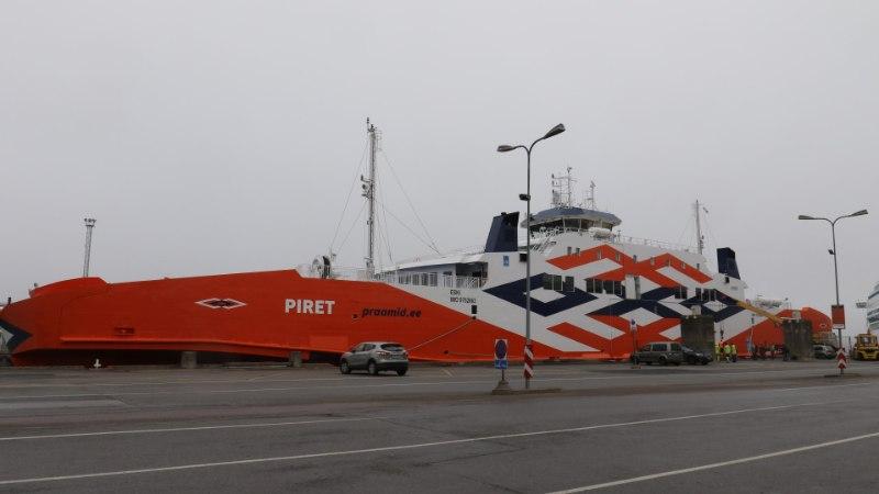 Äsja Eestisse jõudnud parvlaev Piret vajab juba parandustöid