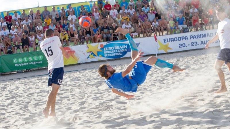 Eesti rannajalgpalli meistrivõistlusi ootavad tuleval hooajal ees mitmed muudatused