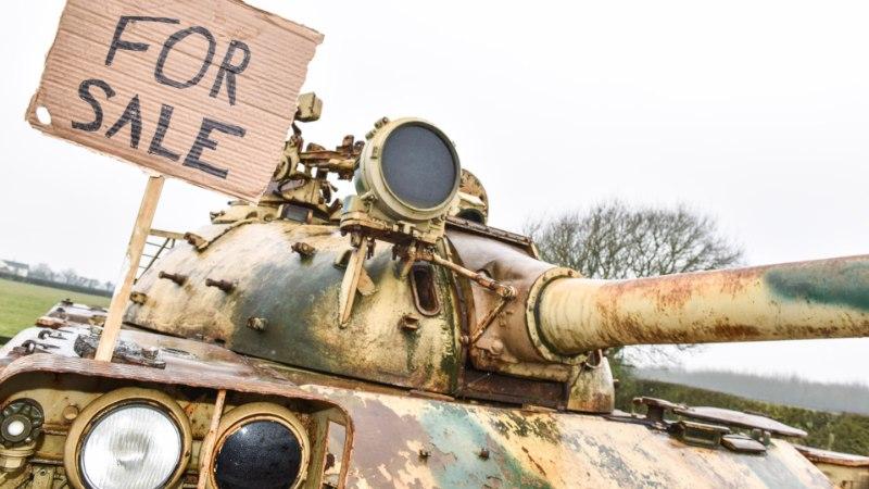 USKUMATU ÕNN: kollektsionäär leidis ostetud tankist 60 kilo kulda