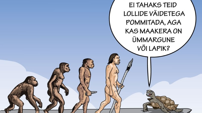 Karikatuur | Lame maa