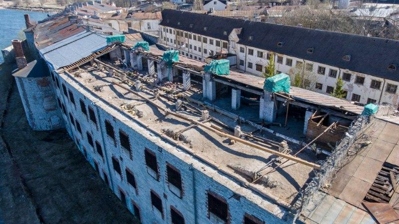 Patarei merekindluse katuse remont on hauganud riigi rahakotist suure ampsu