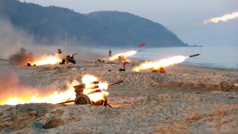 Põhja-Korea tegi järjekordse raketikatsetuse