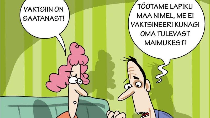 Karikatuur | Vaktsiin