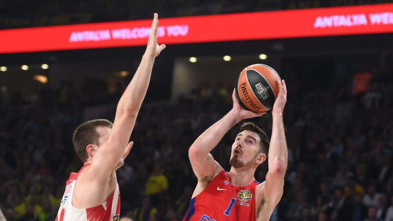 Moskva CSKA ja Krasnodari Lokomotiv-Kuban näitasid fantastilist kolmepunktivisete tabavust