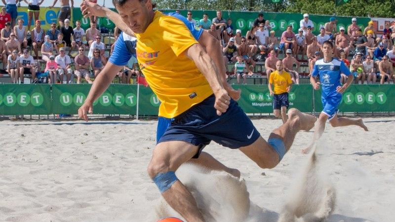 Rannajalgpalli meister tegi eurokarikal rootslastele tuupi