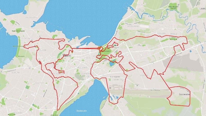 GPS-kunstnik reisis ühe päevaga ümber maailma