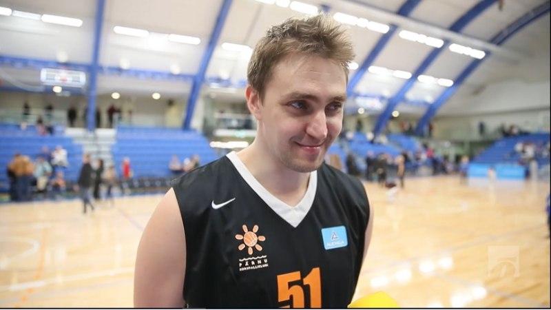 ÕHTULEHE VIDEO   Reinar Hallik uuest Kalevi spordihallist: väga-väga ilus, ainult korvid ei võtnud täna palle vastu miskipärast