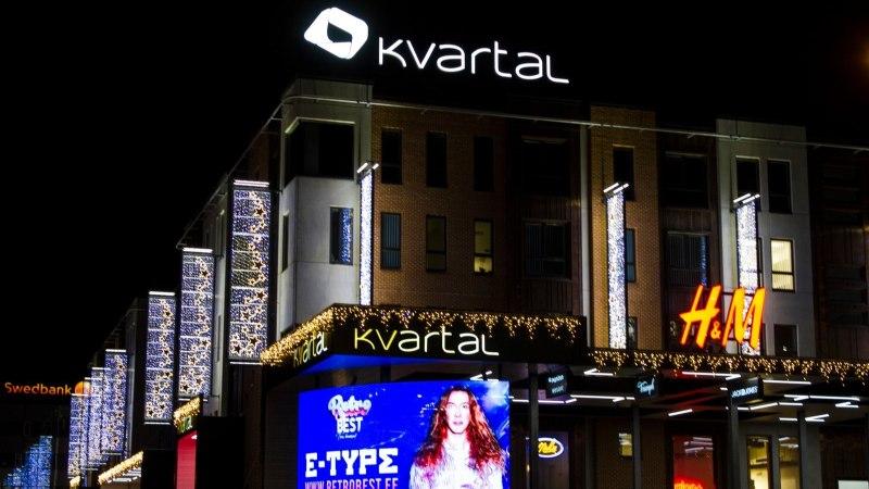 MÕRA SEINAS: Tartu Kvartali kaubanduskeskuses on seinas mõra