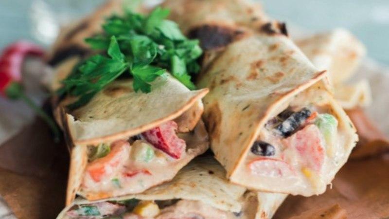 RETSEPT   Valmista mehhikopärased tuunikalavrapid, mida on hea tööle lõunaks kaasa võtta