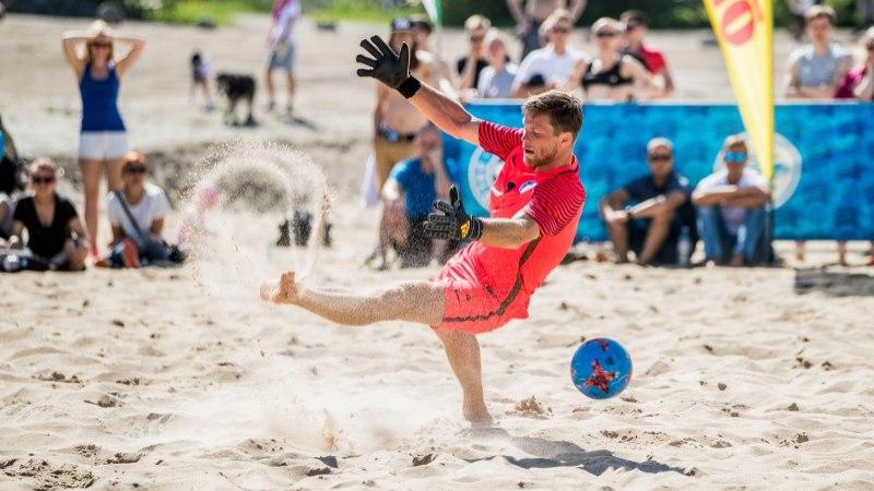Rannajalgpallikoondis lendab tähtsale turniirile esiväravavahita
