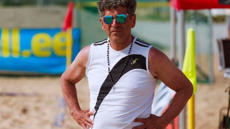 Endine Nõmme Kalju brasiillasest juhendaja on tagasi rannavuti juures: armastan seda mängu!
