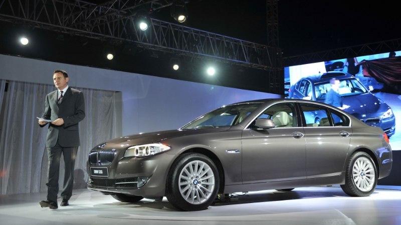 Eesistumise ajal sõidutavad kõrgeid eurokülalisi Eestis BMW-d