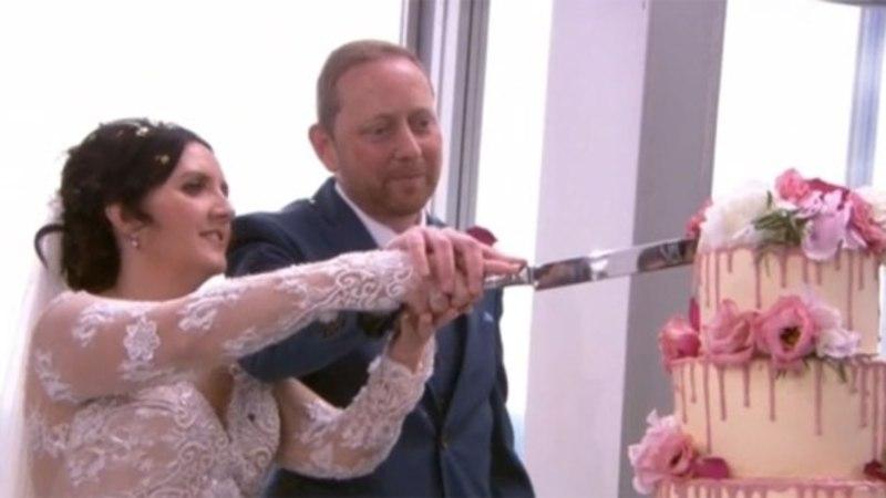MIDA VEEL! Pruutpaar abiellus Suurbritannia hommikutelevisioonis