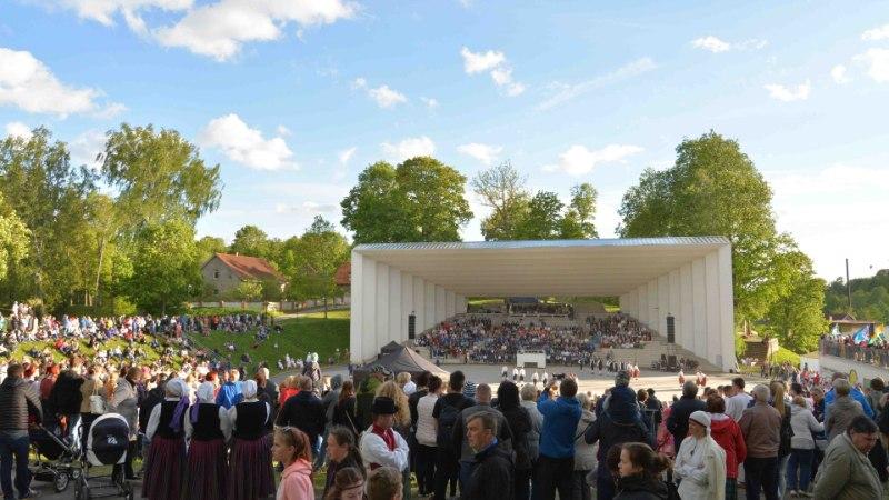 GALERII | Viljandis toimus vägev maakonna laulu- ja tantsupidu
