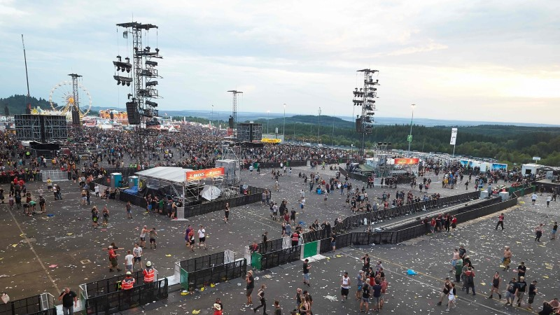Saksamaal katkestati muusikafestival Rock am Ring terroriohu tõttu