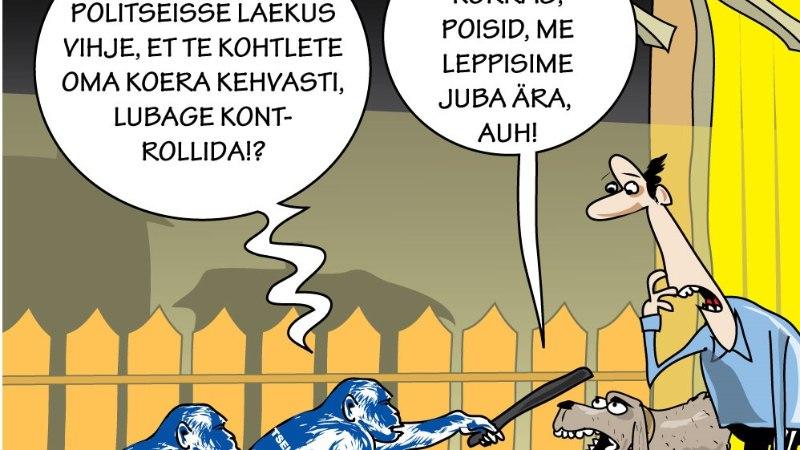 Karikatuur | Loomapolitsei