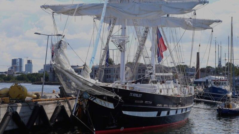 GALERII JA VIDEO | ÜLLATUS! Tuulevaikus tõi Tallinna imekaunid purjelaevad
