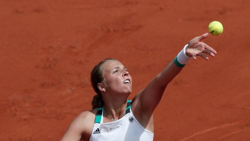 Kontaveidil Šveitsi turniiril üks vastane vähem: konkurentsist langes esimese asetusega tennisist