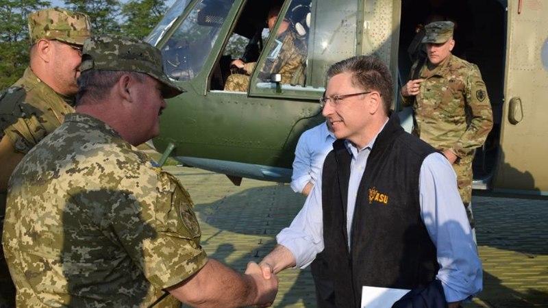USA eriesindaja: Ida-Ukraina rindel käib tõeline kuum sõda