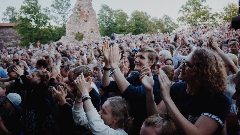 VIDEO ja FOTOD | Viljandi Folk kogub tuure, vähihaigete aitajad aeti ära