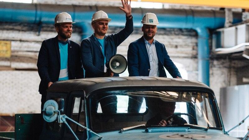 GALERII JA VIDEO | Ülemiste City`s tähistati kahe uue parkimismaja ehituse algust võimsa moto- ja trummišõuga