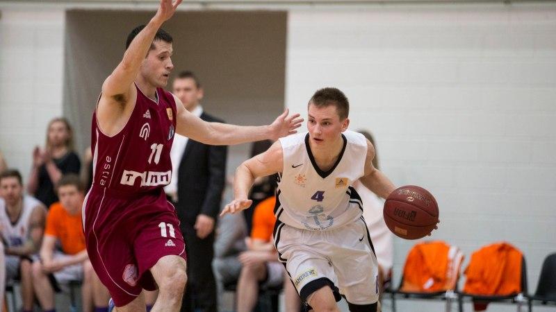 SOOME SAUN! Eesti korvpalli universiaadikoondis sai põhjanaabrite käest 46-punktilise keretäie