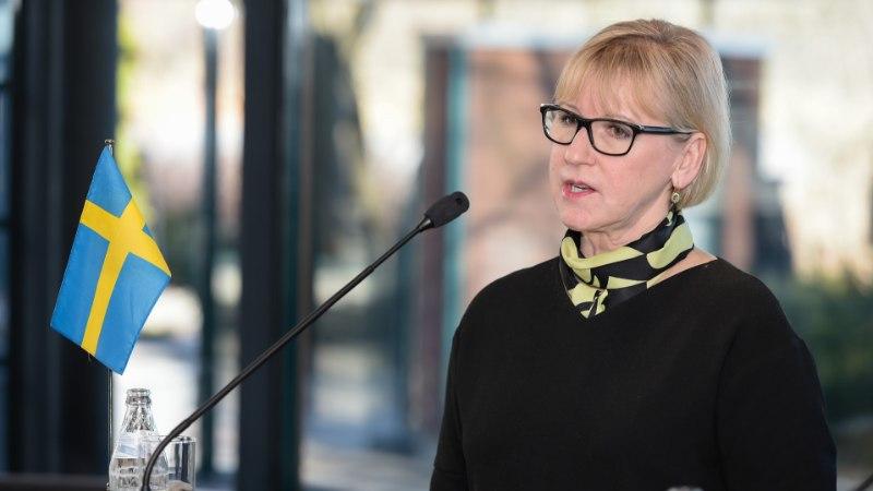 Rootsi välisminister on valmis USA-d ja Põhja-Koread lepitama