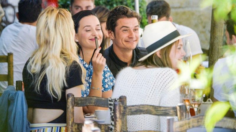 Katy Perry ja Orlando Bloom on jälle armupaar?