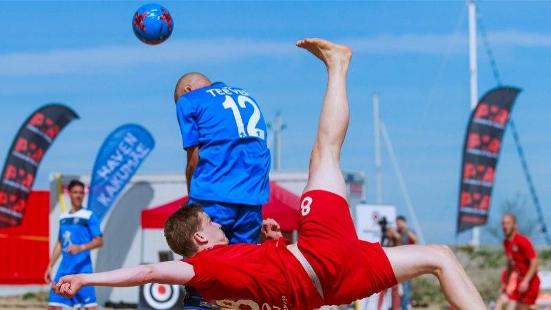 JÄRELVAADATAV | Rannajalgpalli meistriliigas oli õhk pingest paks hooaja viimase kohtumiseni