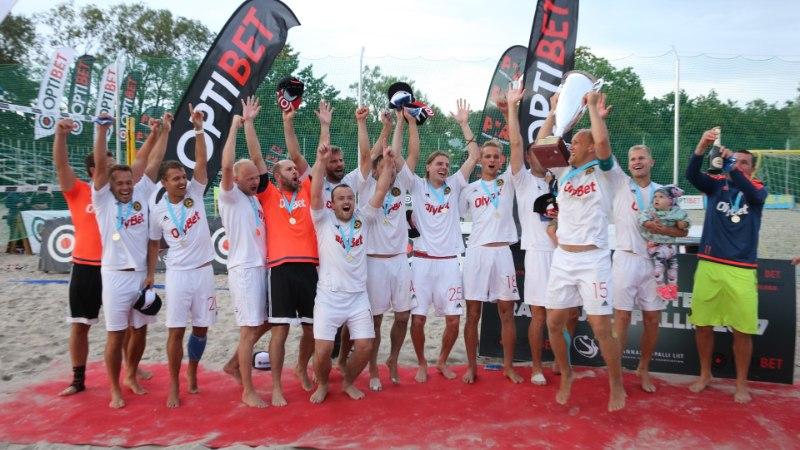 GALERII | Ülipingeline lõpp: Rannajalgpalli meistriks krooniti Nõmme BSC OlyBet