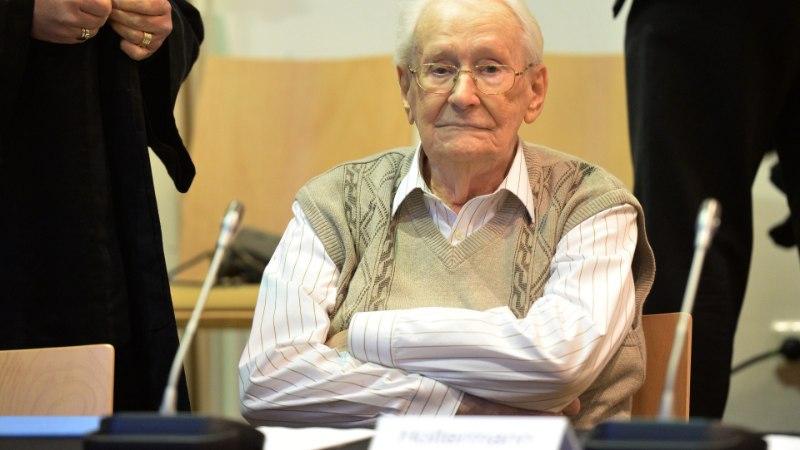 Kohus: Auschwitzi raamatupidajana tuntud Gröningi tervis lubab tal karistust kanda