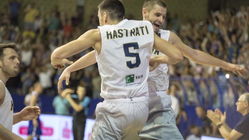 Eesti aitas teist korda teha Kosovo korvpalli ajalugu