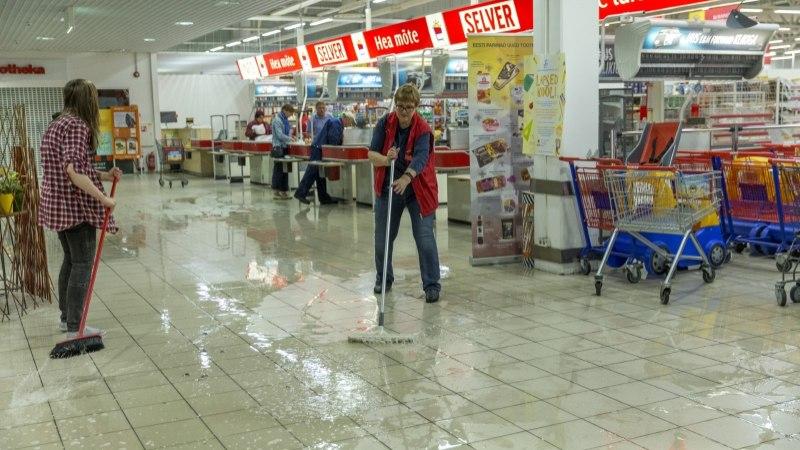LIIT: Vee-ettevõtted ei vastuta uputuste eest kaubanduskeskustes