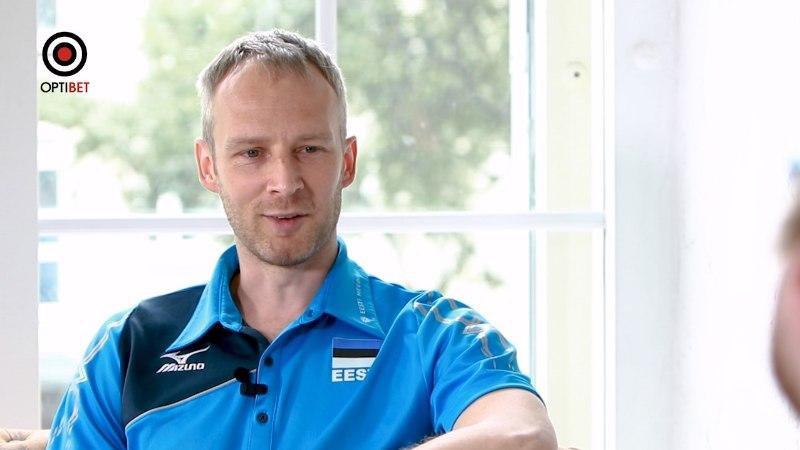 ÕHTULEHE VÕRKPALLISTUUDIO   Eesti alustab EMi, kapten Kert Toobal: peame täna Soomega alagrupi kolmanda koha ära jagama