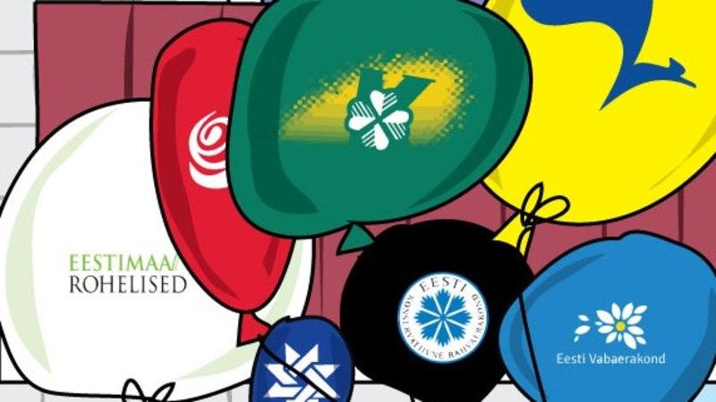 Kiri | Keelata parteinimekirjad kohalikel valimistel