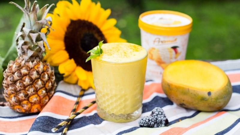 PATUVABA RETSEPT: troopiline jäätisekokteil kurkumiga