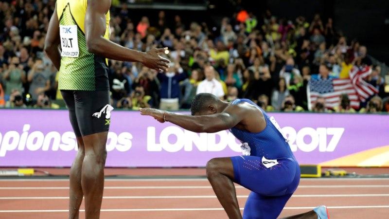 ÕL LONDONIS   Kuidas Bolt fotograafid omavahel kaklema ajas ja maailmameister pikalt saadeti