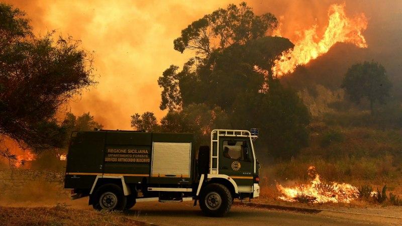Itaalias süütasid tuletõrjujad põlenguid, et lisatasu saada