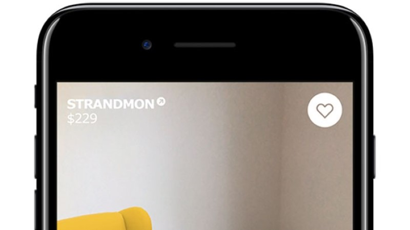 """TÄIUSTATUD REAALSUS: IKEA mobiilirakendus laseb mööblit koju """"proovida"""""""