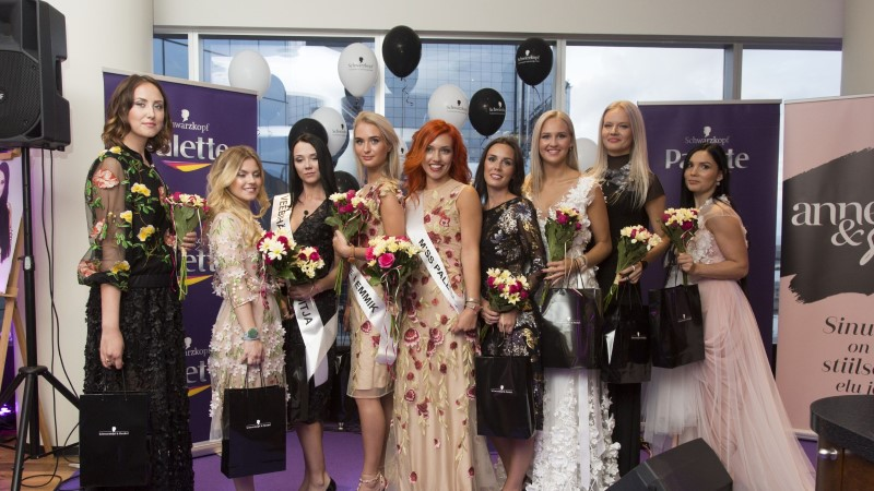 Schwarzkopfi Miss Palette tiitli võitis Irina Autio
