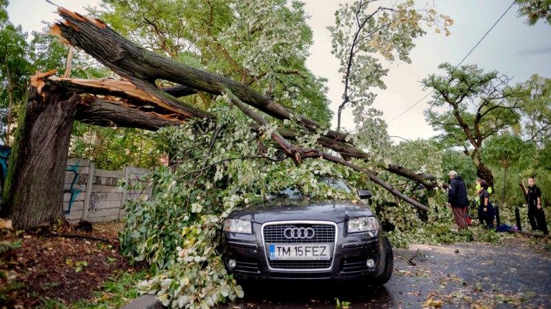 Võimas torm tappis Rumeenias kaheksa inimest, maru liigub edasi Ukraina poole