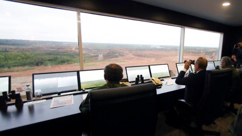 FOTOD | Putin saabus suurõppusele Zapad