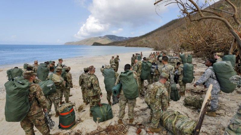 Kariibi mere saartele on lähenemas uus võimas orkaan Maria
