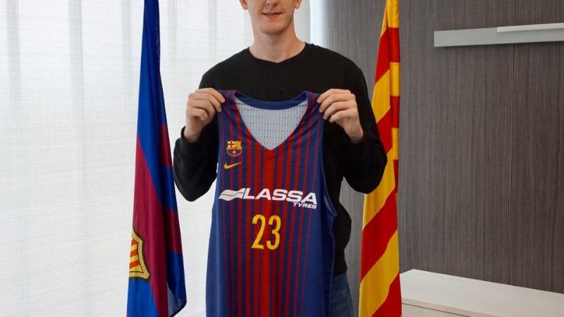 POLE PAHA! 22aastane lätlane sõlmis Barcelonaga pika lepingu