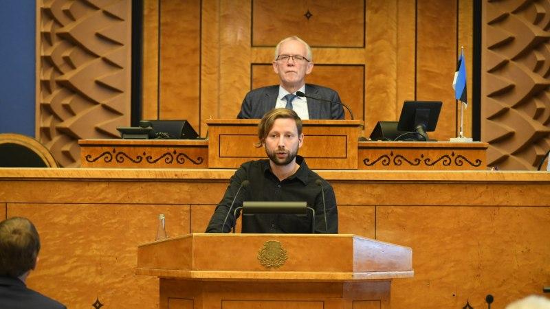 """""""Teil on seitse miljonit eurot võlgu, kas te ei karda töötuks jäämist?!"""" tuletas näitleja Jaak Prints riigikogule meelde"""