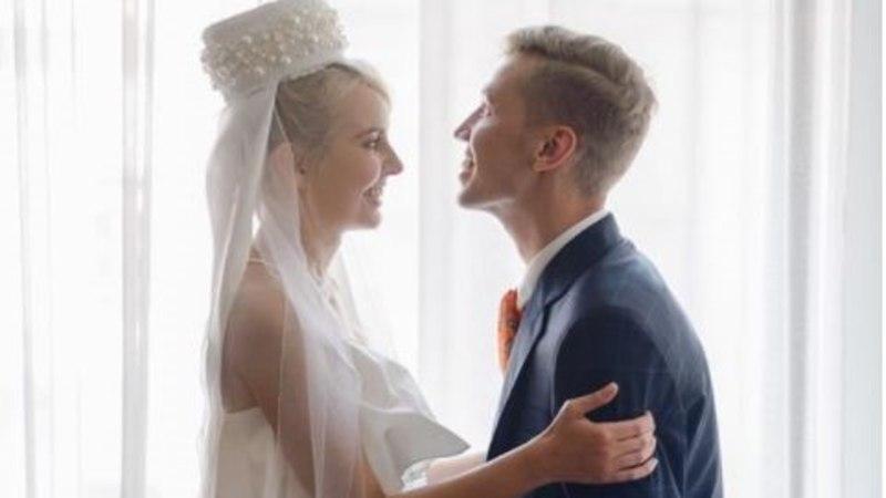 Piret Järvis-Milder ja Egert Milder astusid esimest korda abielupaarina avalikkuse ette