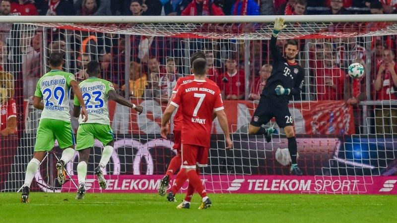 VIDEO | Bayern mängis 2:0 edu maha, varuväravavaht küpsetas piruka