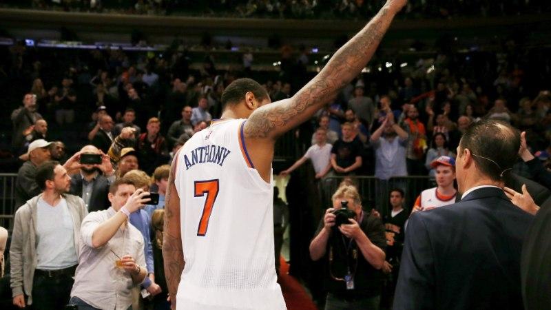 ÜLLATUSPOMM! New York Knicks saab viimaks Carmelo Anthonyst lahti